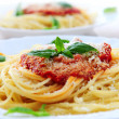 Pasta and tomato sauce — Stock Photo #4825699
