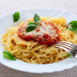 Plate of pasta — Stock Photo #4825705