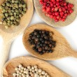 Assorted peppercorns — Stockfoto