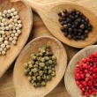 Assorted peppercorns — Stock Photo #4825713