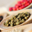 Stock Photo: Assorted peppercorns