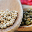 Assorted peppercorns — Stock Photo #4825719