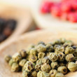 Assorted peppercorns — Stock Photo