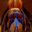 Royalty-Free Stock Photo: Saddles