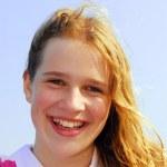 mladá dívka — Stock fotografie