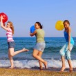 Girls on beach — Stock Photo #4826004