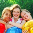 Three girls — Stock Photo #4826007