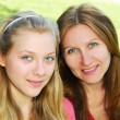 Stock Photo: mother and daughter