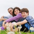 Happy family — Foto Stock