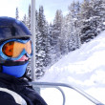 Happy skier — Stock Photo #4826317