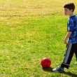Playing soccer — Stock Photo #4826320