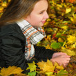Autumn girl — Stock Photo #4826363