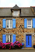 Country house in Brittany, France — Stock Photo