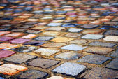 Cobblestone background — Stock Photo