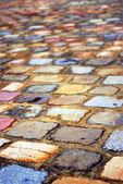 Adoquines coloridos — Foto de Stock