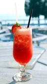 Strawberry daiquiri — Stockfoto