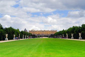 Versailles gardens and palace — Stock Photo