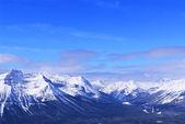 зимние горы — Стоковое фото