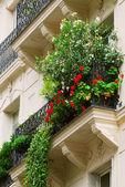 Paris balcony — Stock Photo