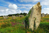 Megalithic monuments in Brittany — Stock Photo