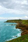 Atlantic coast in Brittany — Stock Photo