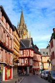 Medieval Vannes, France. — Stock Photo
