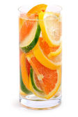 Citrus beverage — Stock Photo