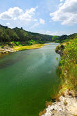 River Gard in southern France — Stock Photo
