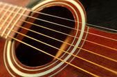Guitar close up — Stock Photo
