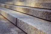 Granite stairs — Stock Photo