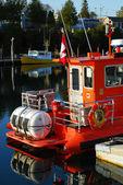 Barcos em tobermory — Foto Stock