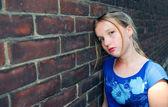 Girl upset — Foto de Stock