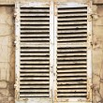 ventana vieja — Foto de Stock