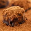 Chocolate truffles — Stock Photo #4947469