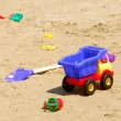 Stock Photo: Beach toys
