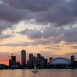 Toronto city skyline — Stock Photo #4947489