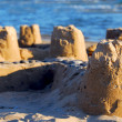 Stock Photo: Sand castle