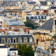 Paris rooftops — Stockfoto
