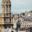 Stock Photo: Paris rooftops