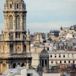 Paris rooftops — Stock fotografie