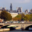Paris-seine — Stockfoto