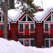 Foto de Stock  : Winter lodge