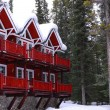 Stock Photo: Winter lodge