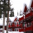 Winter lodge — Stockfoto #4947955