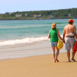 Couple beach — Stock Photo #4948413