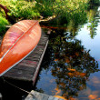 Stock Photo: Canoe lake