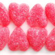 Candy hearts — Stockfoto
