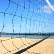 Volleyball net — Stock Photo #4948679