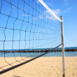 Volleyball net — Stock Photo