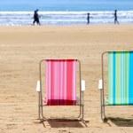 Beach chairs — Stock Photo #4948704